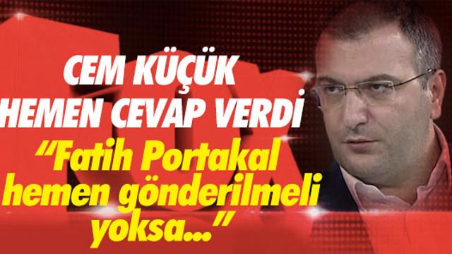 Fatih Portakal'ın çıkışına Cem Küçük'ten anında cevap