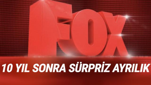 Fox TV'den sürpriz ayrılık!