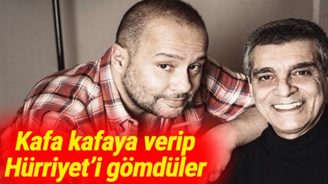 Sacit Aslan ve İzzet Çapa'dan Hürriyet'e bombardıman
