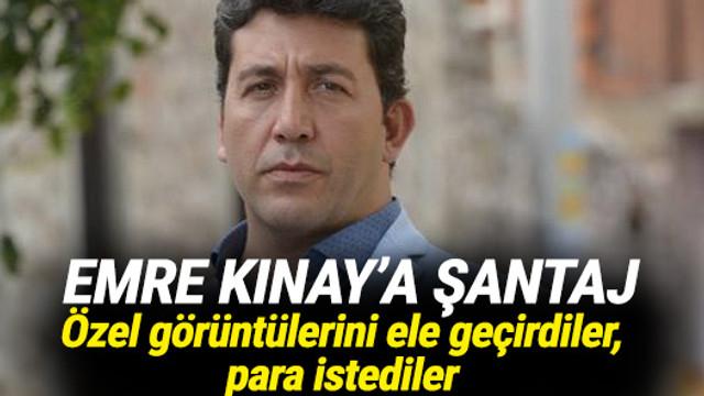 Emre Kınay'ın özel videolarını ele geçirip şantaj yaptılar