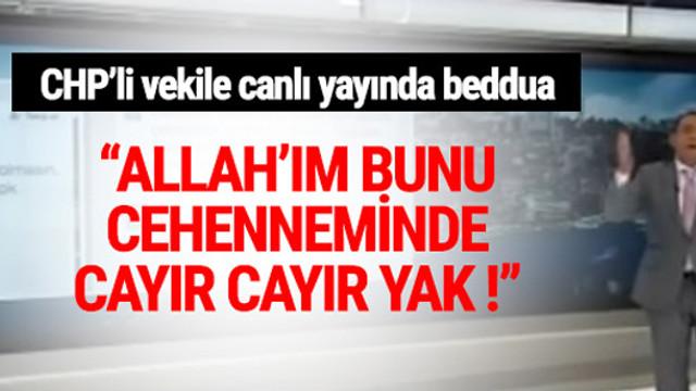 A Haber TV'de Erkan Tan'dan beddua