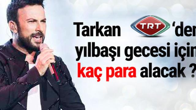 Tarkan yılbaşı akşamı TRT'de olacak