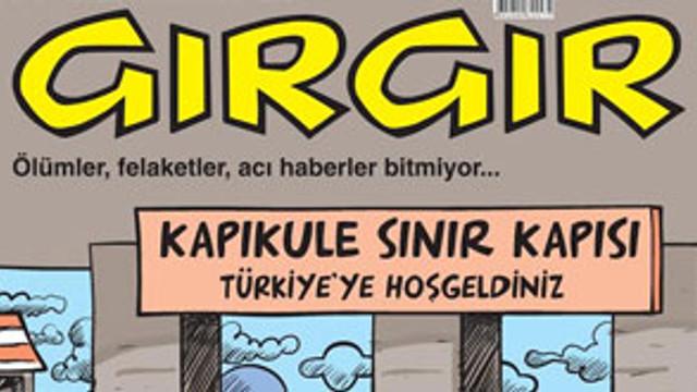 GırGır'dan cenaze kapağı