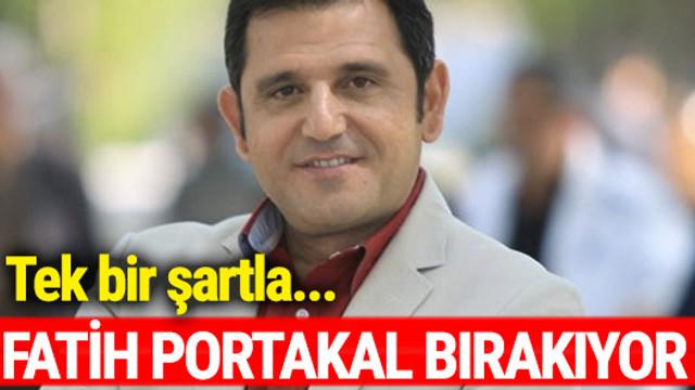 Fatih Portakal büyük ikramiye çıkarsa bırakıyor