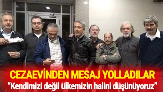 Hapisteki gazeteci ve yazarlardan 2017 mesajı