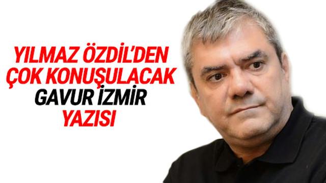 Özdil İzmir'i hedef gösterenleri vurdu