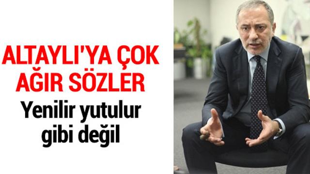 Galatasaraylı yönetici Nazifoğlu: Fatih Altaylı adam değil