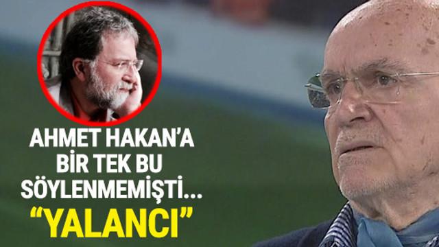 Hıncal Uluç: Ahmet Hakan yalan söylüyor
