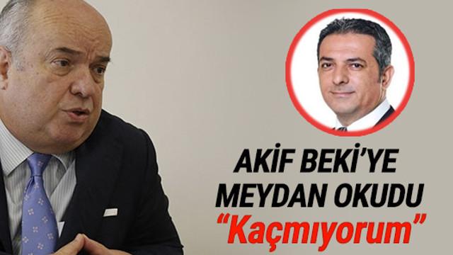 Fehmi Koru, Akif Beki'ye meydan okudu