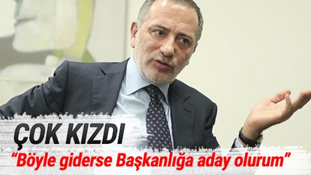 Fatih Altaylı, Dursun Özbek'e çok kızdı