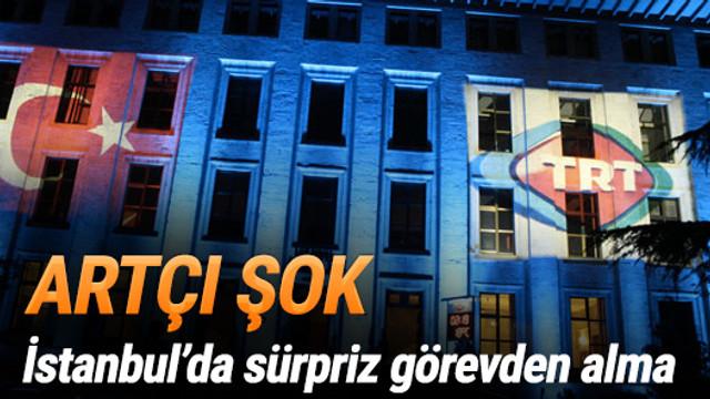 TRT'de büyük depremin artçıları başladı
