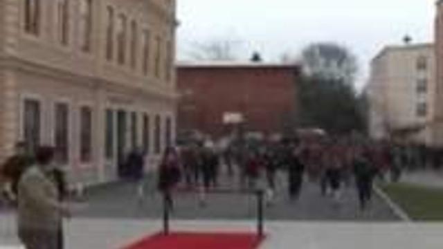 Üniversiteside ''AKP defol'' sesleri