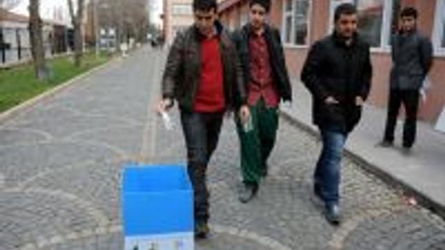 YGSde kullanılan kalem ve silgiler köy okulları için toplandı