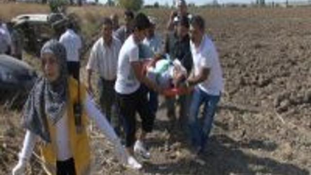 Aksaray'da kaza: 5 yaralı