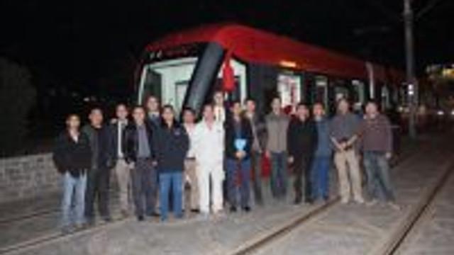 Çinden Alınan Tramvayın Test Sürüşleri Devam Ediyor