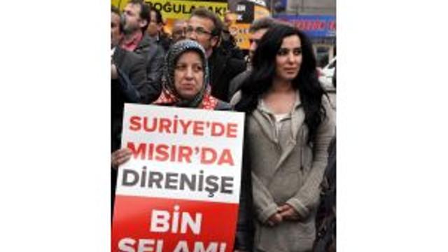 Zonguldakta, Mısırdaki İdam Kararları Protesto Edildi