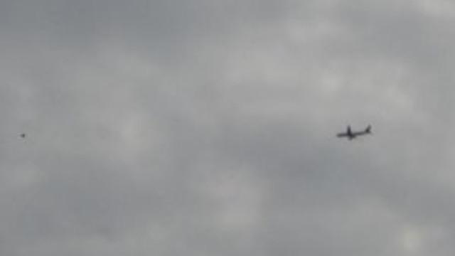 İşte yanan uçağın ses kaydı