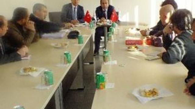 Tkdk Finansman Genel Koordinatörü Oruç'dan Erzurum İl Koordinatörlüğü'ne Ziyaret