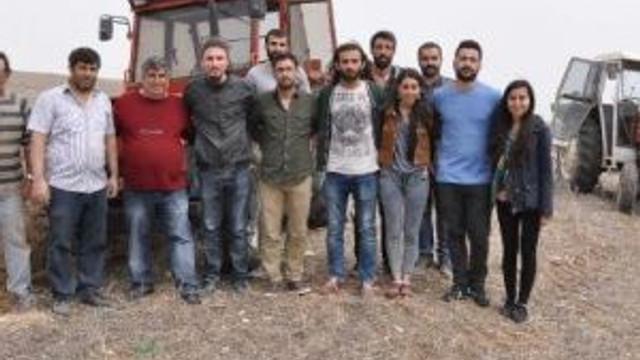 Komünist Partili Başkanın Gönderdiği Nohutlar Eskişehir'de Tarlaya Ekildi