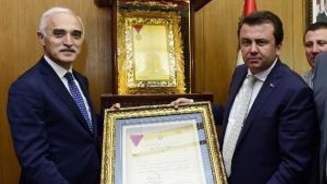 Müsiad Heyetinden Başkan Erkoç'a Ziyaret