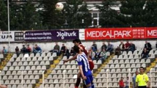 Tokatspor-tuzlaspor: 1-1