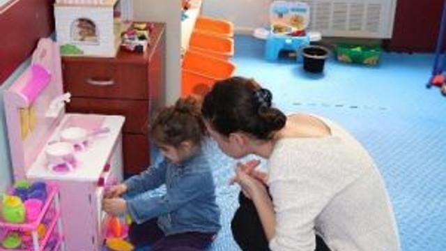 Çocuklar Oyun Terapiyle Tedavi Oluyor
