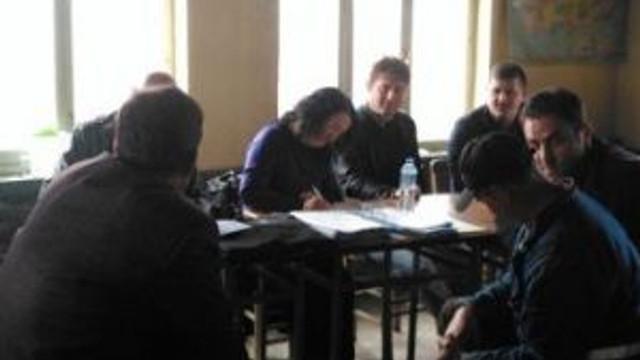 Kalkım'da Orköy Kredi Tespit Çalışmaları Yapıldı