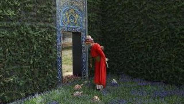 Osman Hamdi Bey'in Kaplumbağa Terbiyecisi Gülhane Parkı'nda Yorumlandı