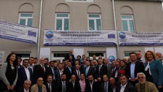 CHP'li Hasan Akgün Bulgaristan'da cami açtı