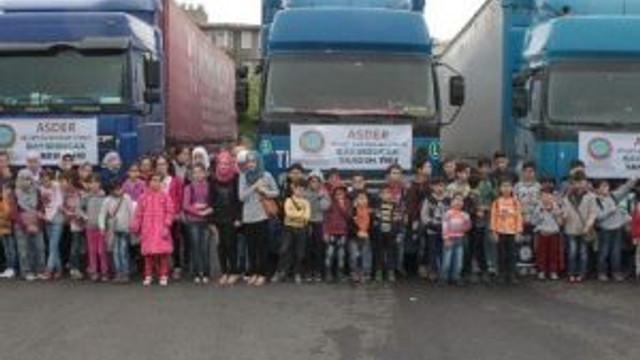 Suriyeli Öğrencilerden Bayırbucaklı Kardeşlerine Anlamlı Yardım