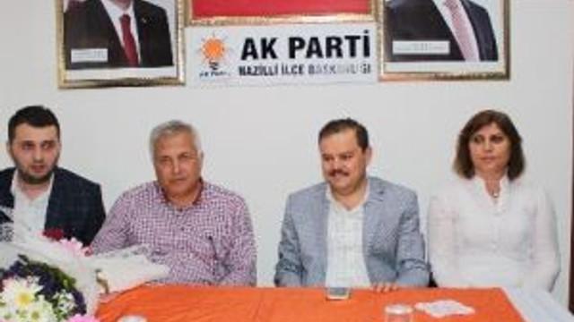 Abdurrahman Öz, Ak Parti Nazilli Teşkilatını Ziyaret Etti