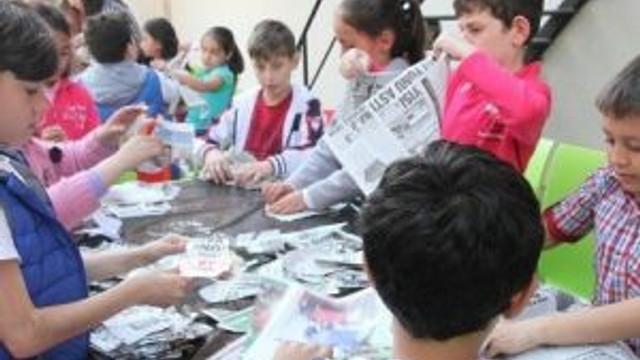 Gençlik Merkezi'nde Kuş Barınağı Yaptılar