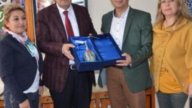 Kazan, Başkan Sargın'ı Ziyaret Etti