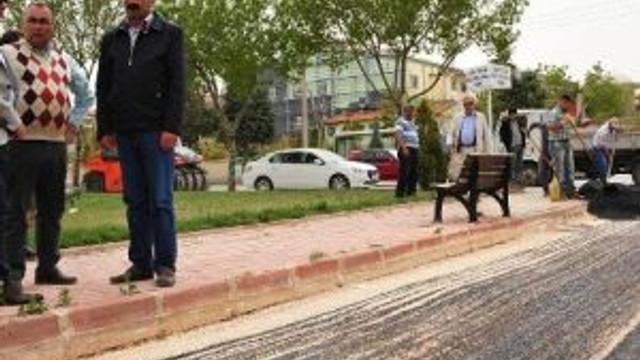 Karaman'da Asfaltlama Çalışmaları Devam Ediyor