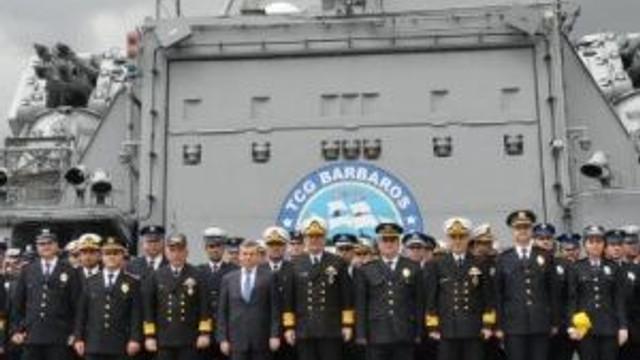 Polisler, Donanma Komutanlığı'nın Misafiri Oldu