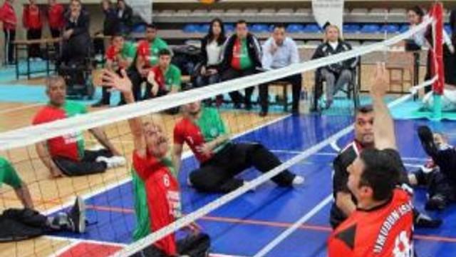 Engelli Voleybol Ligi Başladı