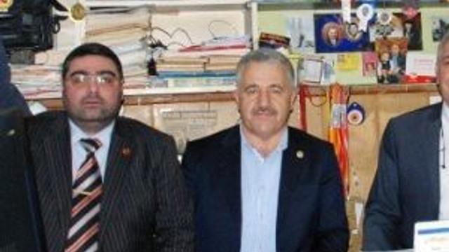 Ak Parti Milletvekillerinden Kkdgc Başkanı Daşdelen'e Tebrik Ziyareti