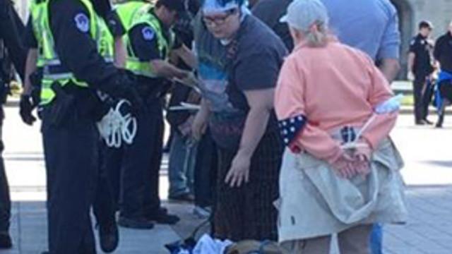 """Washington'da """"Demokrasi Baharı"""" gösterisi: 400 gözaltı"""
