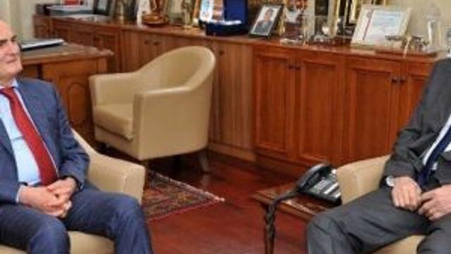 Tbf Genel Sekreteri Arsan, Başkan Yılmaz'ı Ziyaret Etti