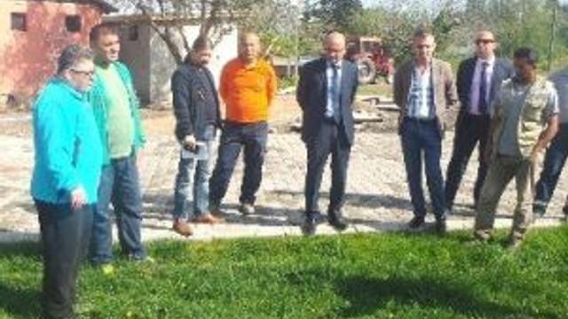 Hersek Er Meydanı'nda Hummalı Çalışma