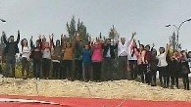 Nizip Meslek Yüksek Okulunda 'Al Bayrağım' Projesi Tamamlandı
