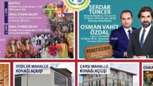 Bozüyük Belediyesi Nisan Ayı Etkinlik Takvimi