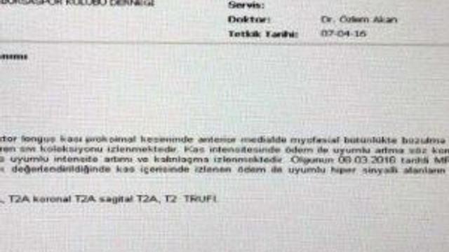 Bursaspor'dan Serdar Aziz Açıklaması