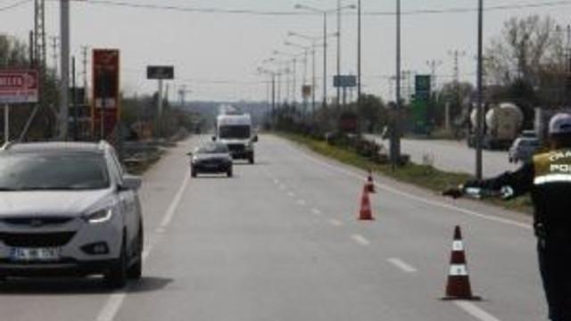Kırklareli'nde 3 Bin 450 Araca Trafik Cezası Kesildi