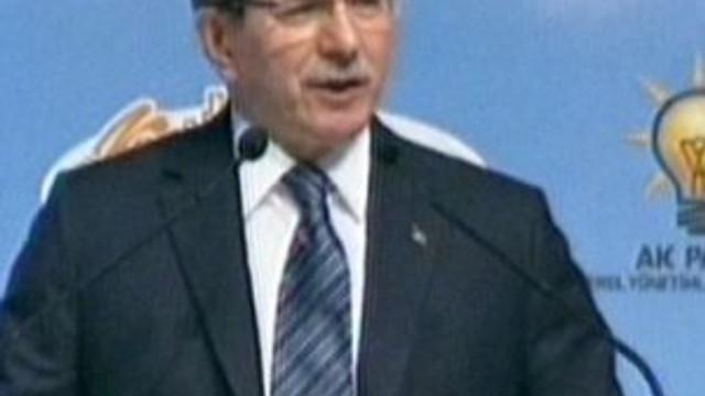 Davutoğlu: CHP'nin başındaki hasta adam...