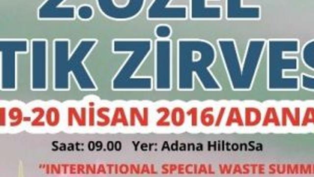 Özel Atık Zirvesi'nin İkincisi Adana'da Başlıyor