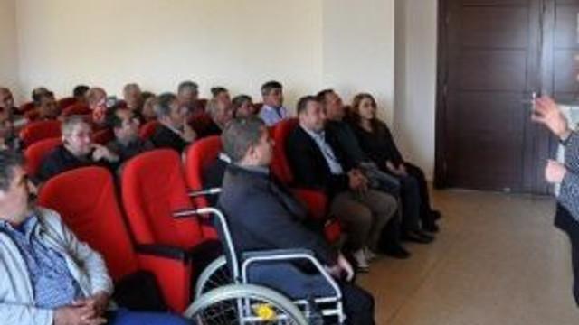 Erdemli Belediyesi'nde İşçilere İş Güvenliği Eğitimi Verildi
