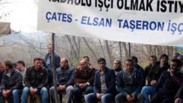Taşeron İşçiler 53 Gün Süren Kadro Eylemlerini Bitirdi