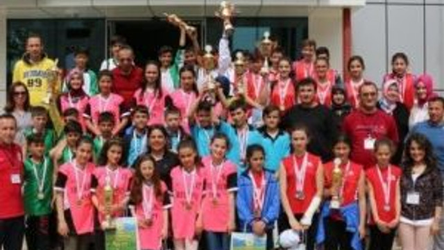 Düzce'de Oryantiring Yarışları Nefes Kesti