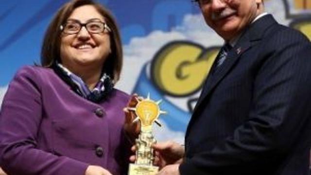 Gaziantep Büyükşehir Belediyesine Ödül